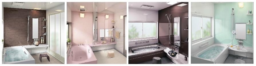 鳥潟工務店の新築住宅 ~お風呂・バス~